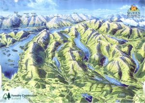 Trossachs NP map